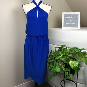 NWT Laundry by Shelli Segal Halter Jersey Dress
